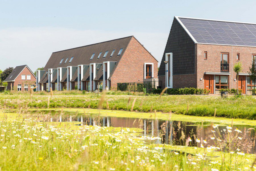 10 energiezuinige woningen Waterspin Geerpark