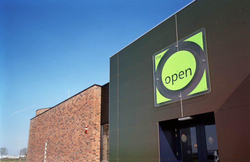Nieuwbouw evenementenlocatie The Open