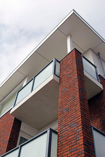 12 patio, 11 starterswoningen en 8 startersappartementen 't Block