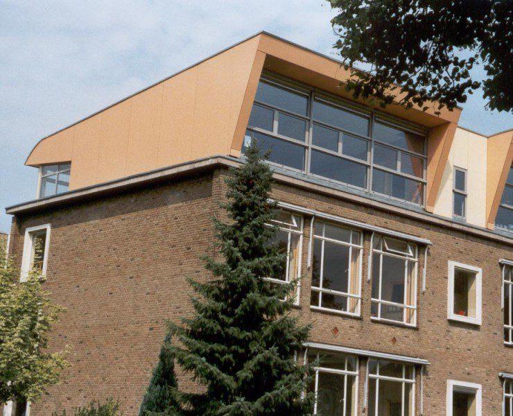 Optopping schoolgebouw