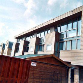 Gevelelementen en houtwerk voor 22 nieuwbouwwoningen Blixembosch