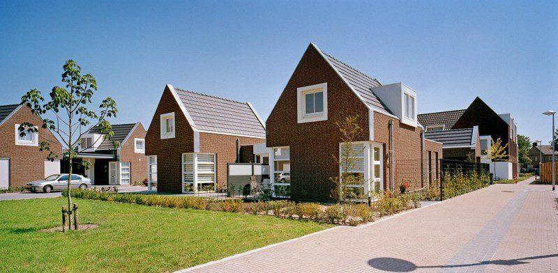 9 patiowoningen en 12 appartementen Hof van Selant
