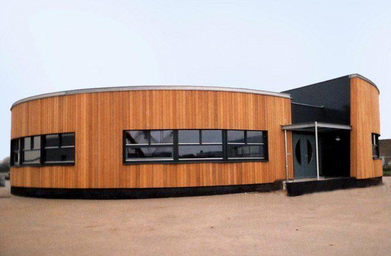 Rond kantoor Rondhouthandel Van Ommeren