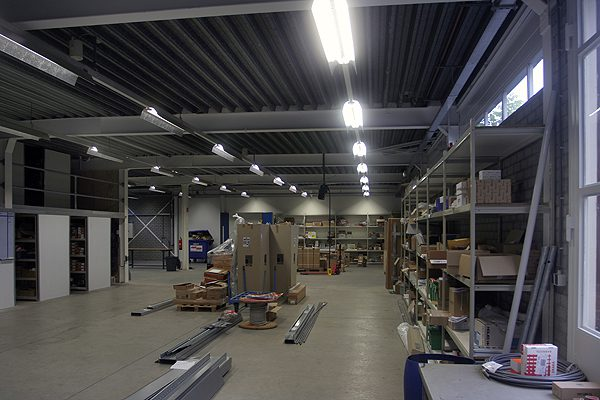 Uitbreiding bedrijfspand Van Doren Engineers