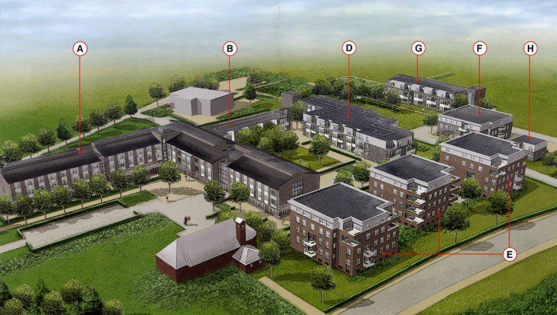 69 Zorgwoningen en 4 units Zorgpark St. Petrus