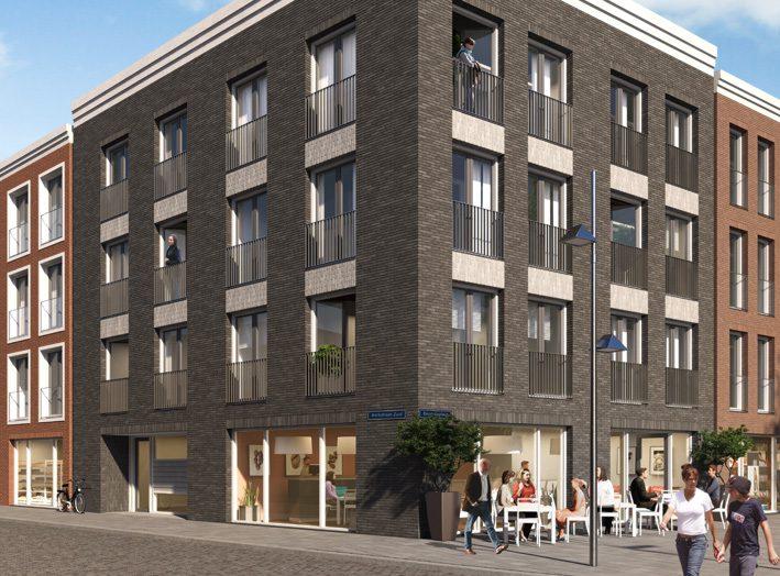 45 Startersappartementen en commerciële ruimten Zuid-Koninginnewal
