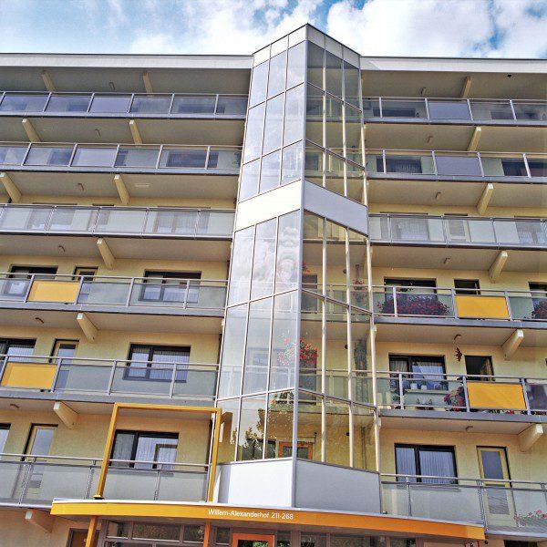 Facelift en interieurverbetering 9 Neducoflats (432 woningen)