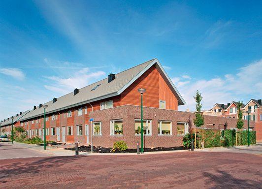 54 Eengezinswoningen in houtconstructie