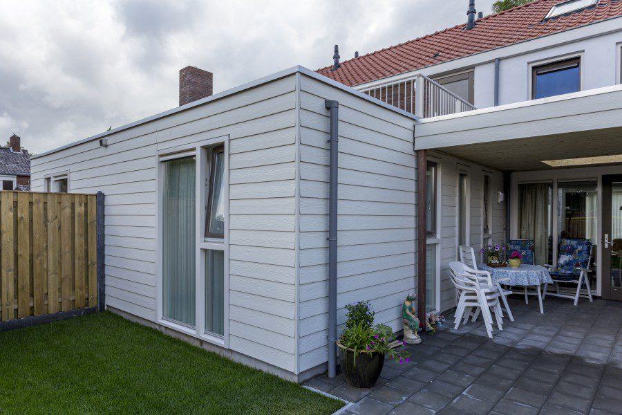 Transformatie eengezinswoningen naar meergeneratiewoningen Europastraat