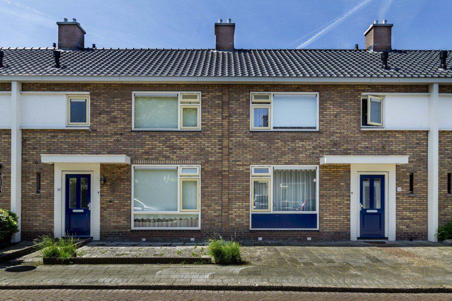 33 woningen gevelrenovatie Plevierstraat en Hoetstraat