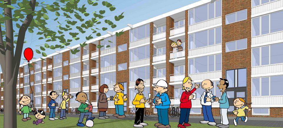 100% vrijwillige deelname bij renovatie-opgave