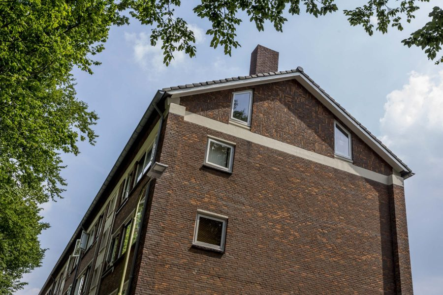 26 portiekappartementen groot onderhoud Van Limburg Stirumlaan