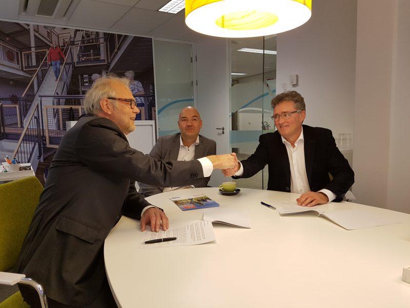 Aannemingsovereenkomst Nieuw Beekvliet getekend