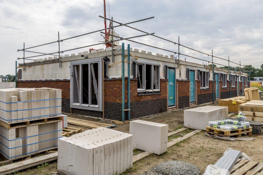 Hoogste punt bereikt bij gasloze woningen 'Goede Morgen' Vlijmen