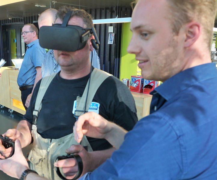 Van 2D-tekeningen en maquettes naar virtual reality