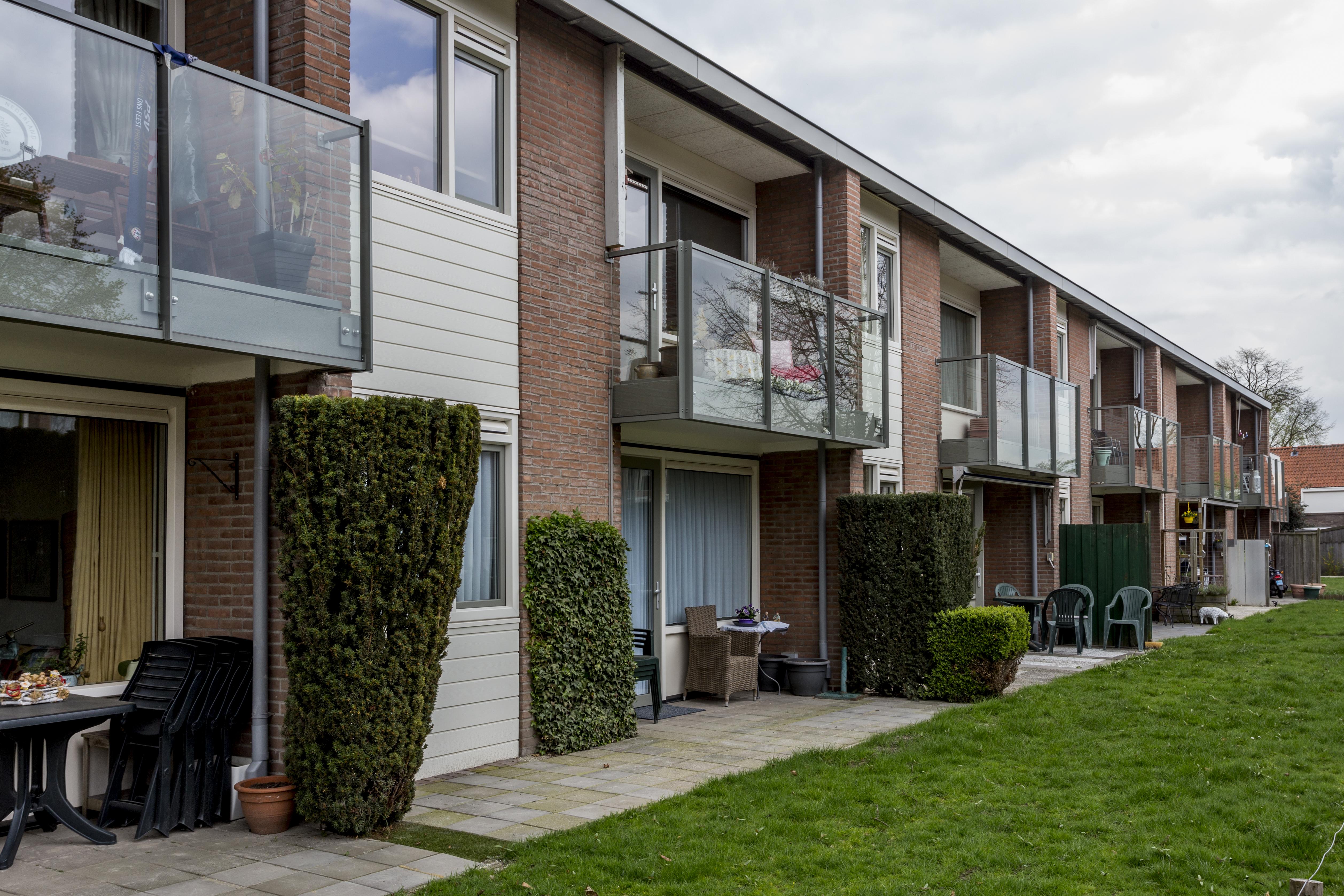 Groot onderhoud 34 woningen Agnes van Kleefstraat Oirschot