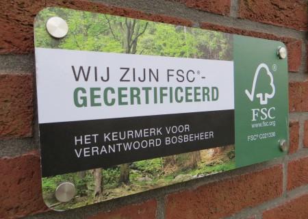 FSC-certificaat hernieuwd