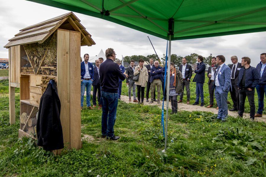 Rugzak vol inspiratie tijdens kennisevent Geerpark Gas(t)vrij