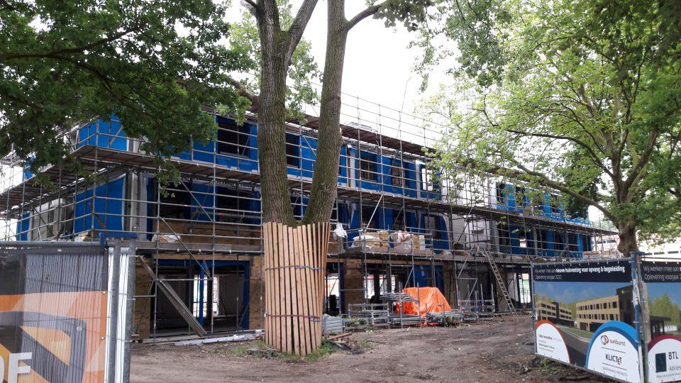 Prefab Houtconstructies: transformatie Traverse, Tilburg