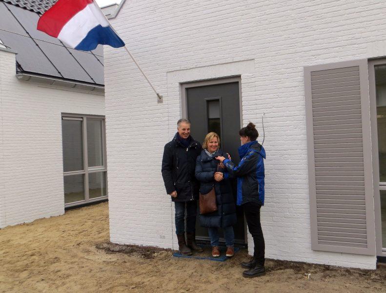 Eerste bewoners nieuwbouwproject Hofmeester ontvangen hun sleutels