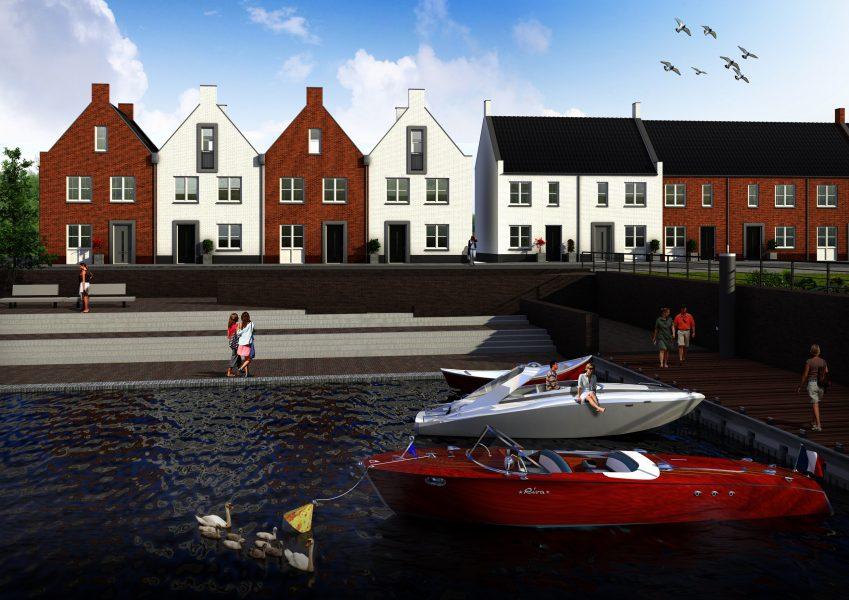 38 huurwoningen De Nielt Cuijk voor inkomensgroep 'tussen wal en schip'