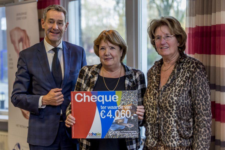 Fonds Cohesie steunt Ontmoetings- en bewegingstuin en Woonproject Hasseltstraat