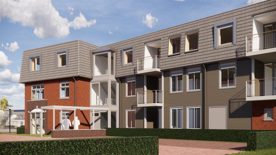 28 woningen voor PeelrandWonen in De Run, Boekel