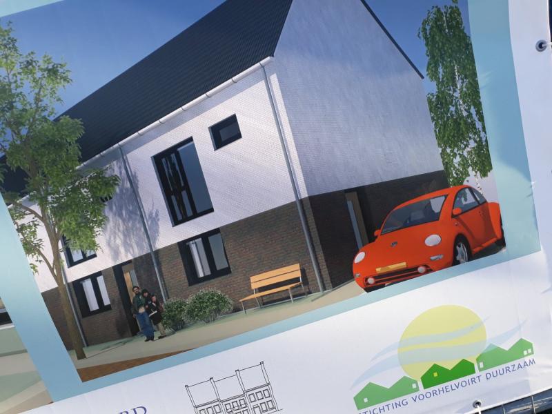 Eerste steen voor 16 duurzame woningen CPO-groep Helvoirt