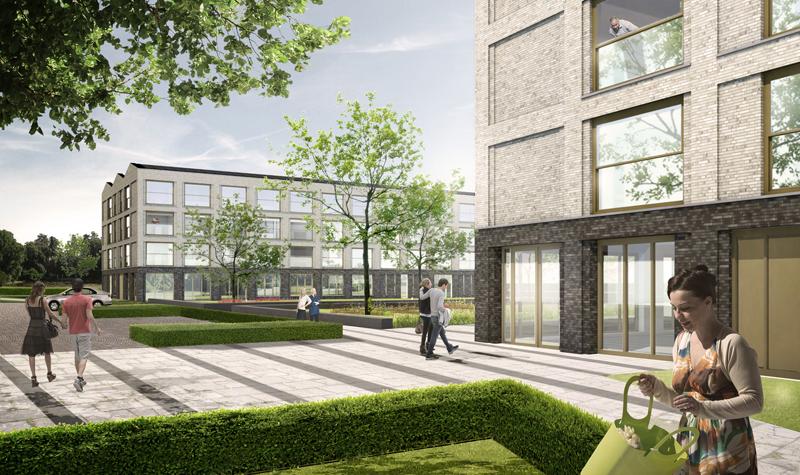 Slim ontworpen BENG-appartementen met aansluiting op warmtenet