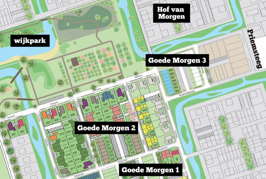 Geerpark Vlijmen groeit verder met 75 NOM-woningen rondom het park