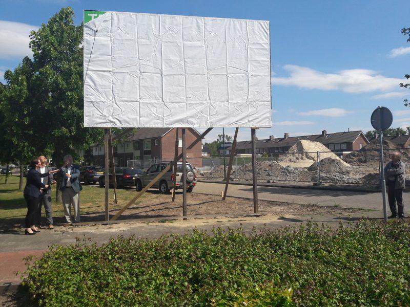 Zonnig startmoment van nieuwbouw Trappistenstraat in Dongen