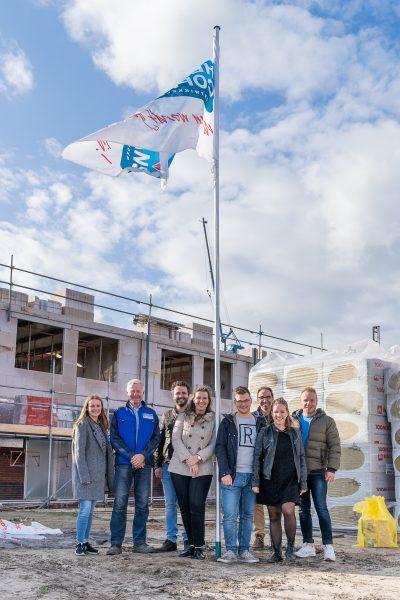 Mijlpalen gevierd bij 60 nul-op-de-meterwoningen in Geerpark